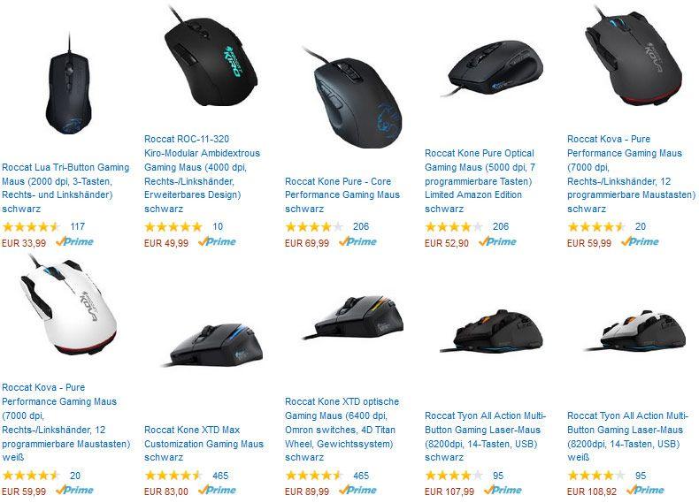 Gratis Gaming Mauspad bei Kauf ausgewählter Gaming Mäuse von Roccat