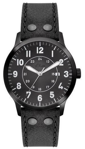 s.Oliver SO 2976 LQ   Herren XL Uhr für 64,99€