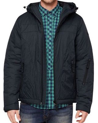 s.Oliver Herren Blouson s.Oliver Herren Blouson Jacke mit Kapuze für 39€ (statt 100€)