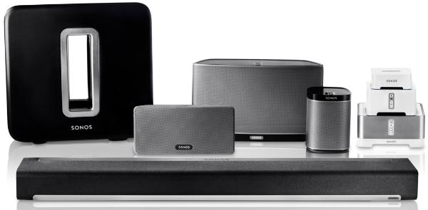 sonosfamilie Das beste Komplett Audiosystem