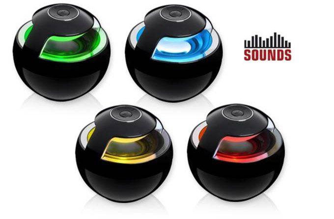 SOUNDS 360° Bluetooth Lautsprecher mit Freisprechfunktion und LED Effekten ab 11,99€ (statt 25€)