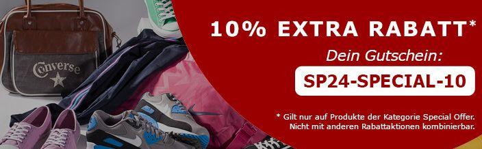 SP24: Diverse Chucks im Angebot für 39,90€ + 10% Extra Rabatt auf Special Offers