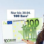 100€ für Girokontoeröffnung bei der 1822direkt