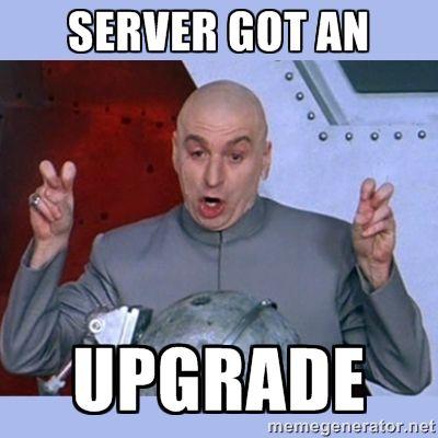 Wir wechseln auf einen neuen Server   Info!