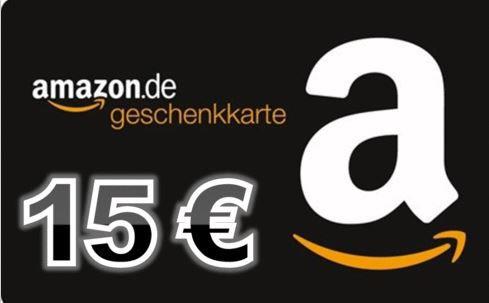 Amazon 15€ geschenkt