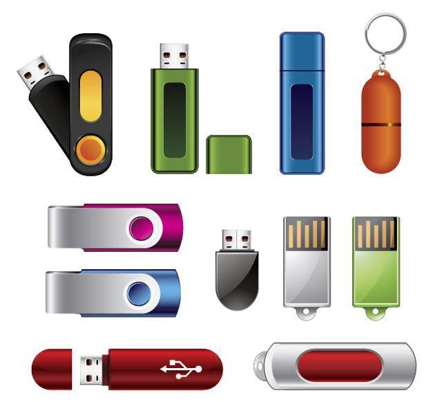 Verschiedene USB Sticks.