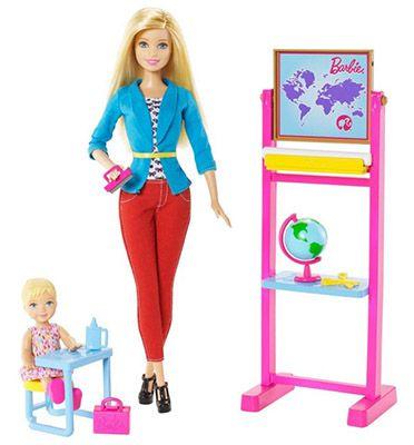 Barbie Ich wäre gern Lehrerin Spielset ab 11,99€ (statt 23€)