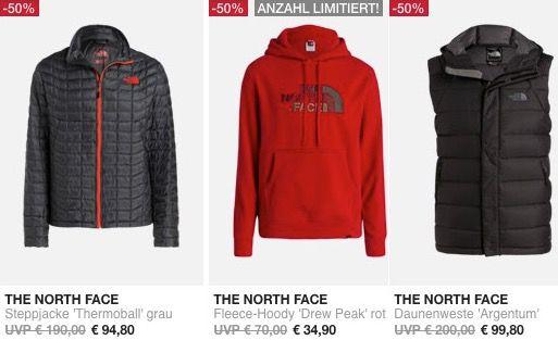 ALLE The North Face Artikel zum halben Preis bei Outletcity   TOP!
