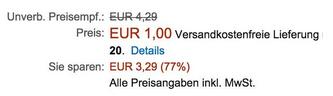 PLAYMOBIL Königswache Sir Ulf (6698) nur 1€ inkl. Versand als Primer (Fehler?)