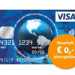 Visa World Card Kreditkarte ohne Gebühr (EU-weit) + Wunsch-PIN – TIPP!