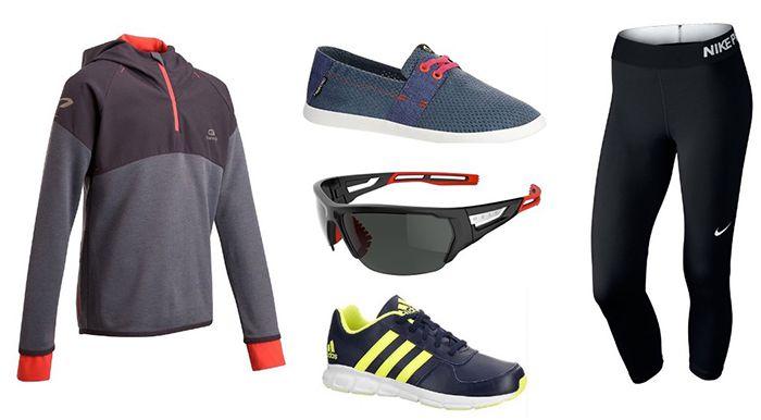 Großer Decathlon 80% Sale + VSK frei (über 1300 Artikel)   z.B. DOMYOS Sporthose 2€, Rucksäcke ab 1,99€ ...uvm.