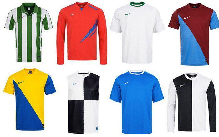 Nike Sport Kurzarm oder Longsleeve Trikots ab je nur 11,99€