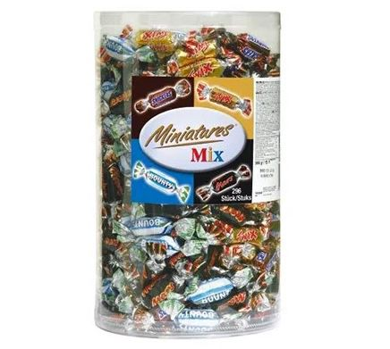 3kg Miniatures Mix Box ab 21,75€ (statt 29€)