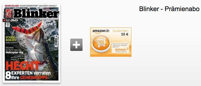 Blinker Blinker Jahresabo mit 12 Ausgaben ab effektiv 7,40€ dank Gutschein Prämie