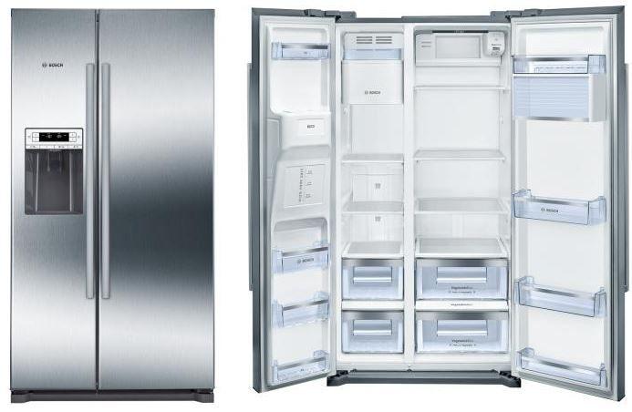 Bosch KAD90VI30 Side by Side mit Wasser  und Eiswürfelspender für 1.111€ (statt 1.475€)