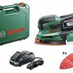 Bosch PSM 18 LI Akku-Multischleifer + Schleifblätter für 82,50€ (statt 127€)
