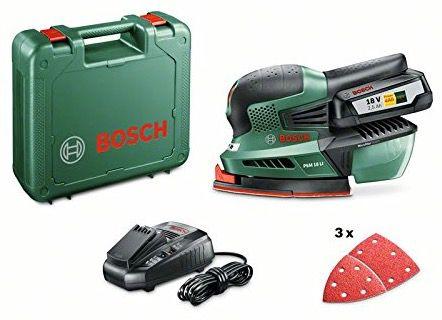 Bosch PSM 18 LI Bosch PSM 18 LI Akku Multischleifer + Schleifblätter für 82,50€ (statt 127€)