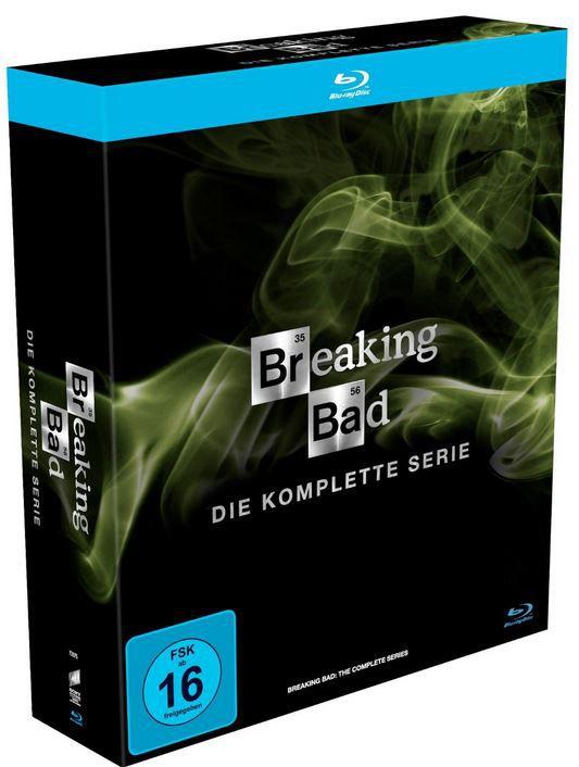 Breaking Bad Breaking Bad – Die komplette Serie (Blu ray) für 39€ (statt 63€)