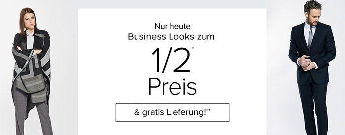 Business Looks zum halben Preis + VSK frei