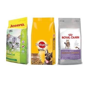 Royal Canin, Pedigree und anderes ausgewähltes Tierfutter heute mit bis zu 50% Rabatt   Top!