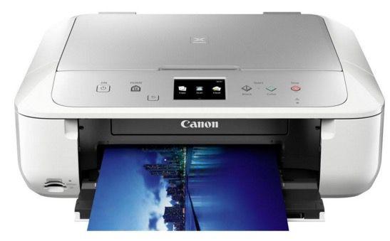 Canon PIXMA MG6853 Canon PIXMA MG6853 Tintenstrahl Multifunktionsdrucker für 79,99€ (statt 99€)