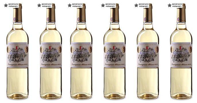 12 Flaschen Casa del Valle El Tidon Sauvignon Blanc + gratis Flaschenkühler für 54,90€   Gold prämiert!