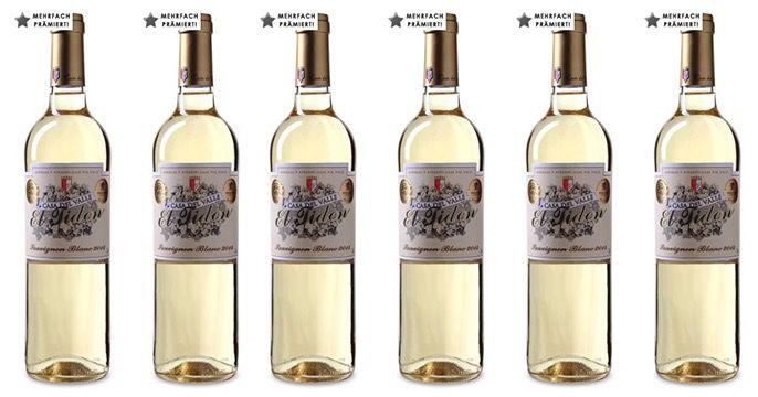 Casa del Valle El Tidon 12 Flaschen Casa del Valle El Tidon Sauvignon Blanc + gratis Flaschenkühler für 54,90€   Gold prämiert!