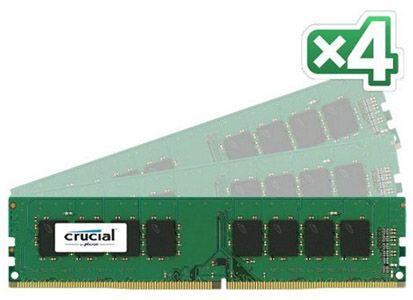 16GB Crucial DDR4 2133 Ram Kit (4 x 4GB) für 55,72€ (statt 71€)