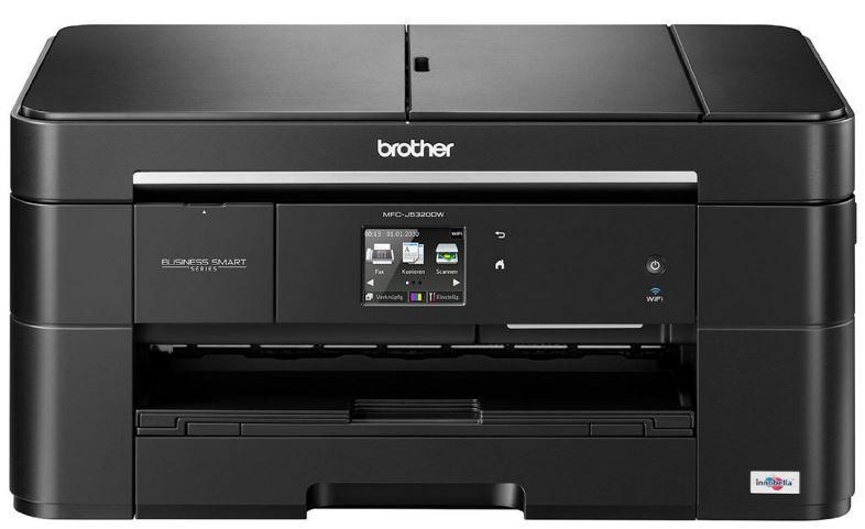 DIN A3 Drucker Brother MFC J5320DW   DIN A3 WLan Tintenstrahldrucker, Scanner, Kopierer, Fax für 99€