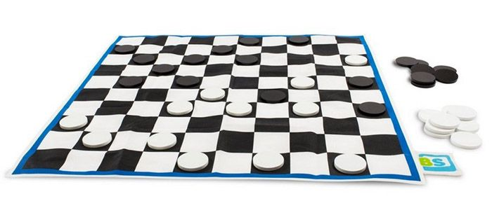 Dame Spiel XL BuitenSpeel Dame Spiel XL 85 x 85 cm für 5,77€   Plus Produkt!