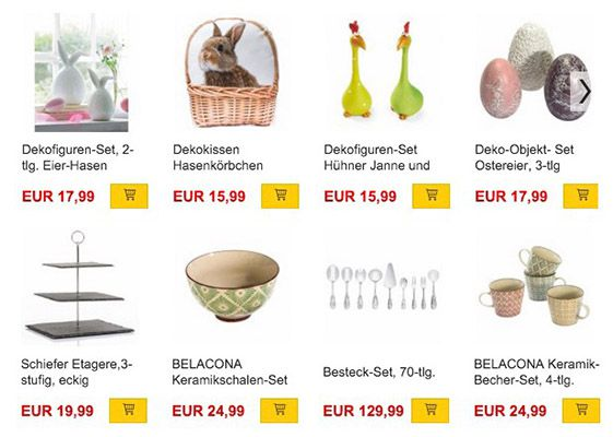20% Rabatt auf Wohnen & Deko + VSK frei bei Buecher.de