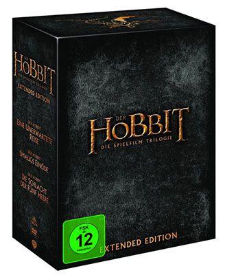 Die Hobbit Trilogy (Blu ray, Extended Version, 15 Discs) für 49,97€ (statt 56€)