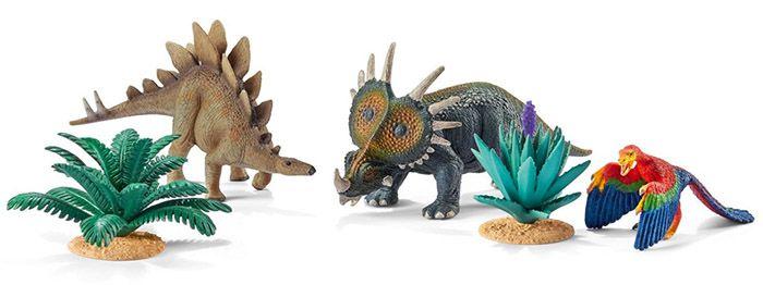Dinosaurier Schleich 42260   Zuhause bei den Pflanzenfressern ab 9€ (statt 16€)