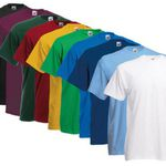 Fruit of the Loom – 10 T-Shirts in Valueweight für je Set 21,99€