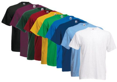 Fruit of the Loom   10 T Shirts in Valueweight für je Set 21,99€