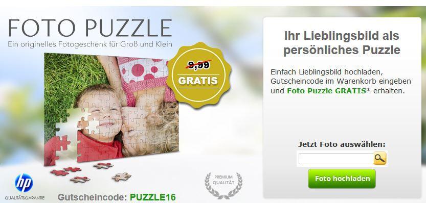 Gratis: Fotopuzzle 112 Teile   20 x30cm (Versandkosten 4,99€)