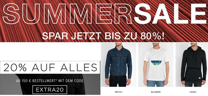Frontline Shop Frontline Shop: Summer Sale mit 80% + 20% Extra Rabatt ab 150€
