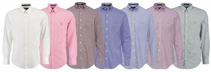 GANT Langarm GANT Herren Langarm Hemden für je 49,90€(statt 60€)