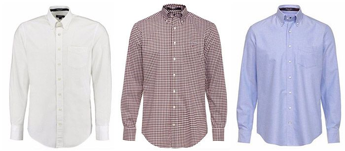 Gant Hemden GANT Herren Langarm Hemden für je 49,90€(statt 60€)