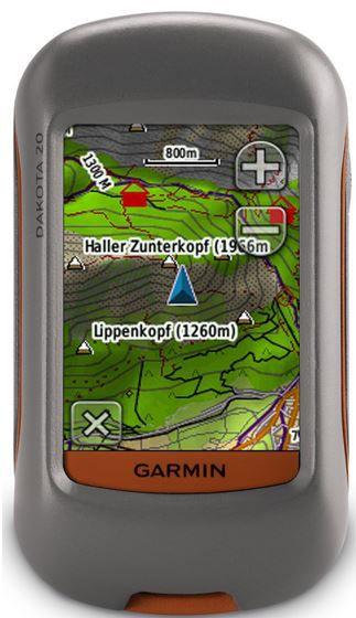 Garmin Dakota Garmin Dakota 20 GPS Handgerät mit barometrischem Höhenmesser für 159,99€