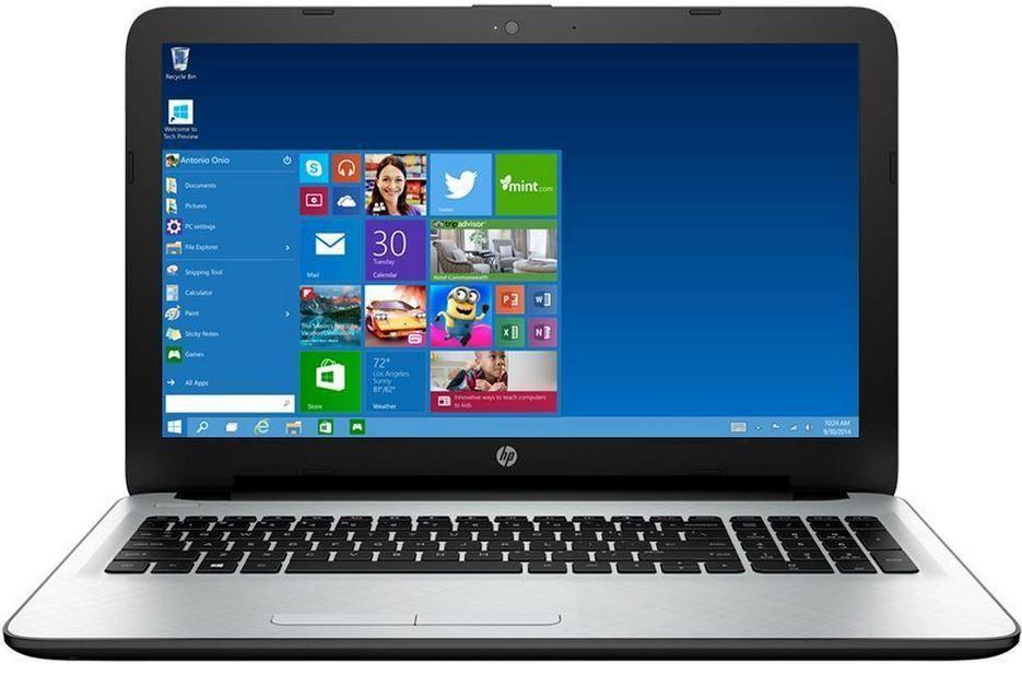 HP 15 AF110NG   15,6 Einsteiger Notebook mit Win 10 für 294€ (statt 354€)