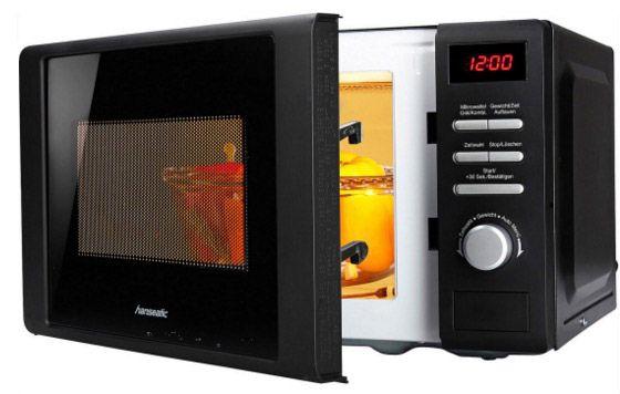 Hanseatic Mikrowelle mit Grill für 55,94€ (statt 86€)