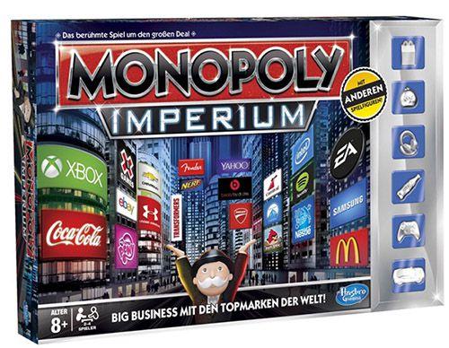 Hasbro Monopoly Imperium Hasbro Monopoly Imperium   Edition 2014 ab 14€ (statt 22€)