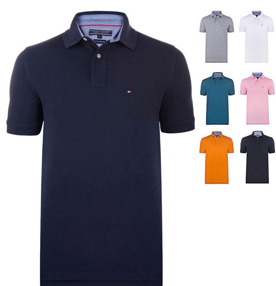 Hilfiger Tommy Hilfiger New 2   Herren Polos Shirts für je 34,95€
