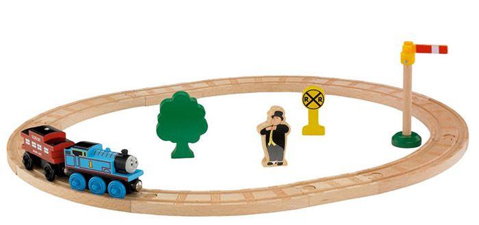 Holzschienen Starterset Thomas und seine Freunde Holzschienen + Thomas Lok ab 14,49€ (statt 29€)