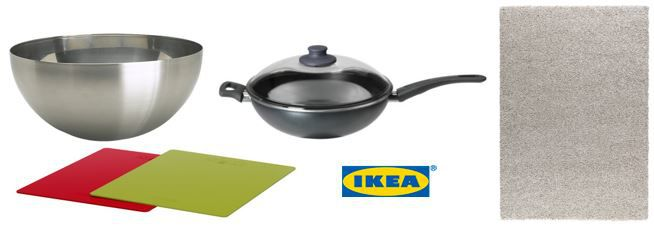 IKEA Online Wochenangebote   SKÄNKA Wok mit Deckel ab 14,99€