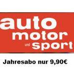 auto motor und sport – Jahresabo statt 93,60€ für nur 4,90€