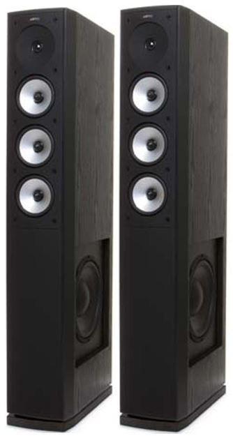 Jamo S 628 Standlautsprecher (Paar) in schwarz für 298€ (statt 490€)