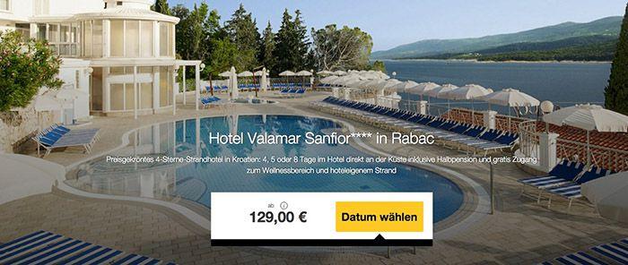 4 8 Tage Kroatien im TOP 4* Hotel mit Halbpension & Spa ab 129€ p.P.