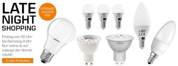 LEDs günstig im SATURN Late Night Shopping